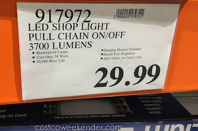 Deal for the Feit Electric LED Utility Shop Light at Costco