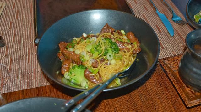 Silk Harvest Beef Chow Mein