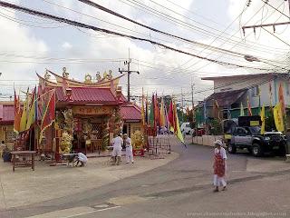 Chinese Temples in Phuket   Shrine