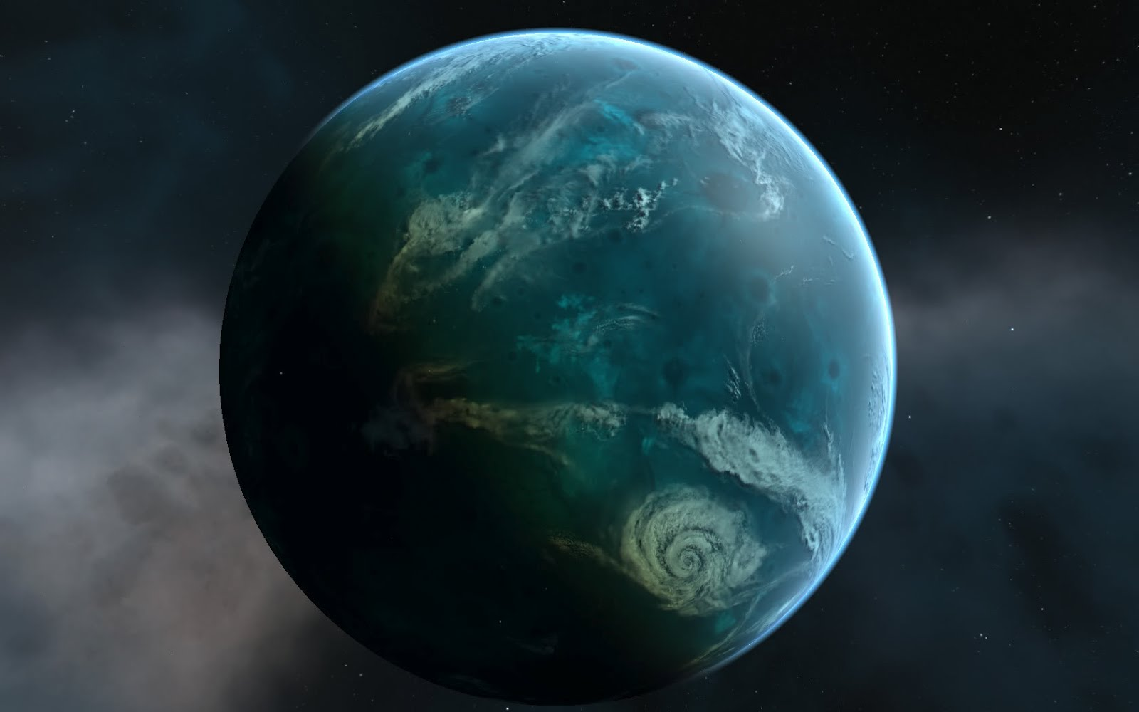 alien water planet - photo #29