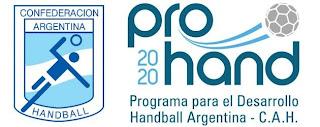 Comienzan a trabajar otras dos regiones en el Prohand argentino | Mundo Handball
