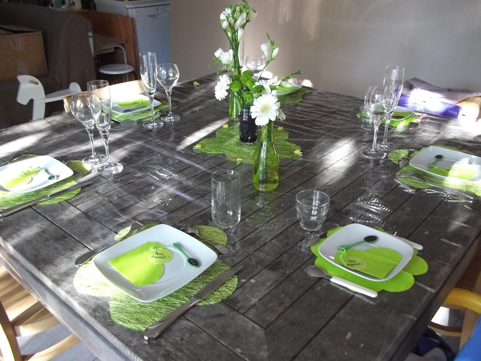 une idee deco pour votre table