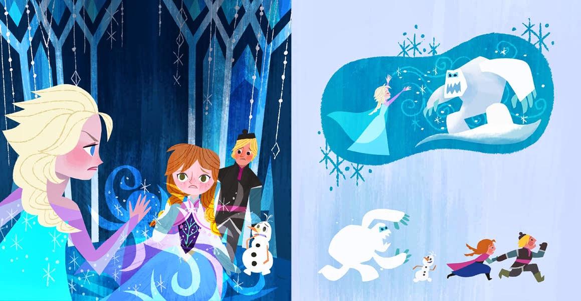 Walt Disney Coloring Pages Frozen : Joey art disney frozen picture book illustrations