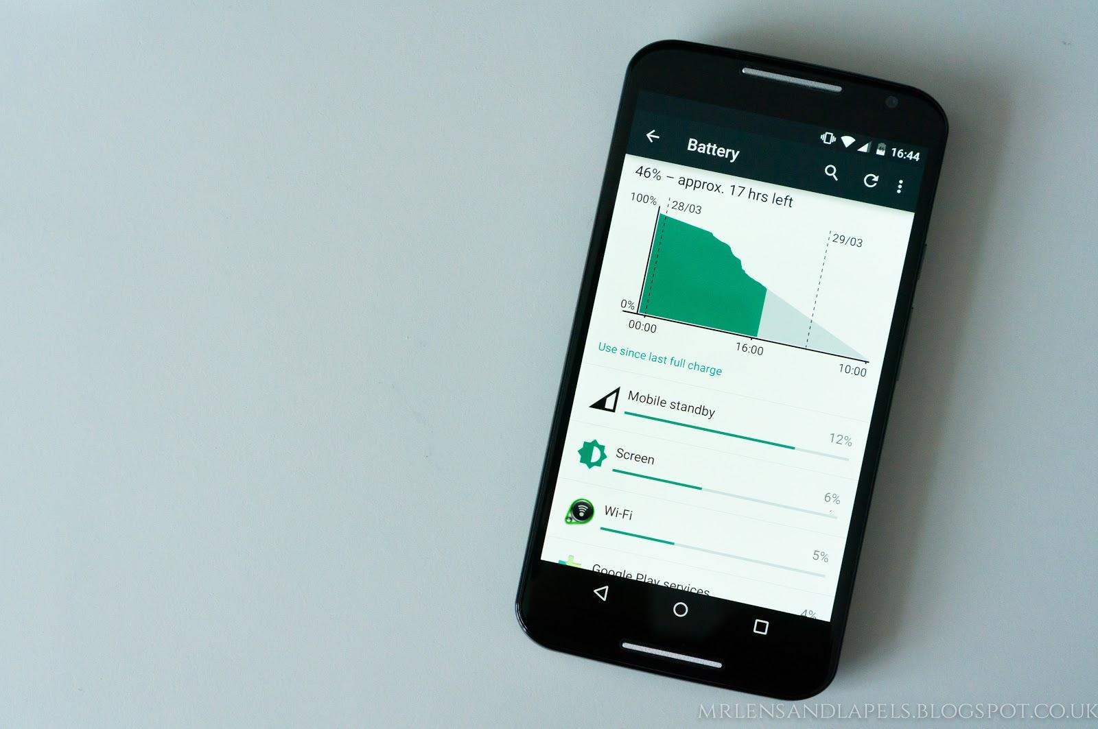 Motorola Moto X 2014 battery life