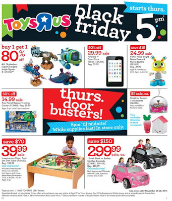 "Toys""R""Us Black Friday 2015 ad flyer"
