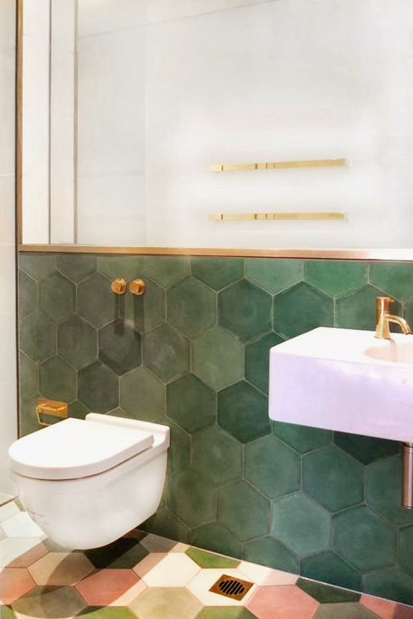 Modern Bathrooms with Colour 2014 - 2015 experience