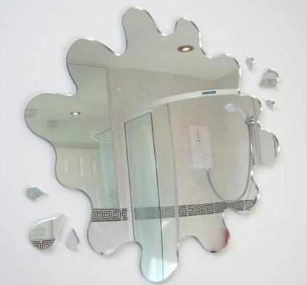 Decorar ba os con espejos ideas para decorar dise ar y for Espejos con formas originales