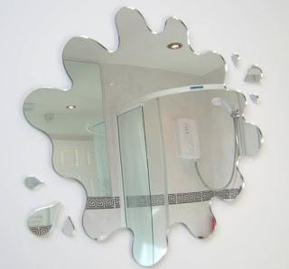 decoración baño espejos