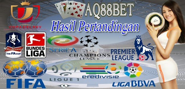 Agen Judi Bola - Hasil Pertandingan 31 October 2014