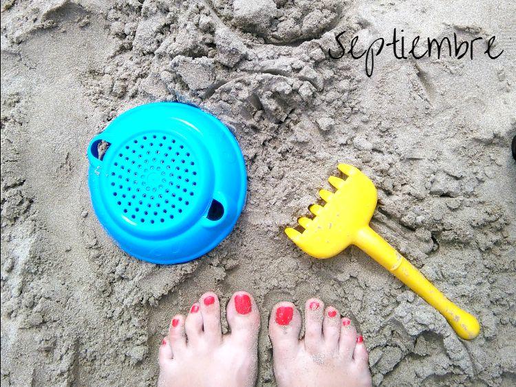 foto piestureo playa