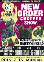 7月 NEW ORDER CHOPPER SHOW 兵庫県