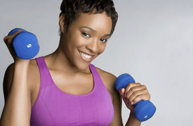 African American Exercising