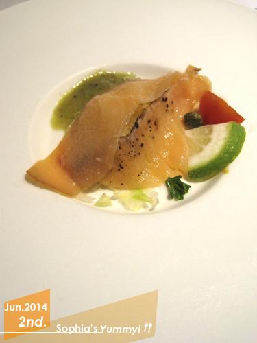 前菜-煙燻鮭魚(冷盤)