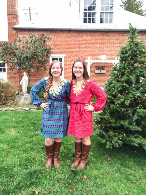 mud pie dress maryland lifestyle blogger preppy christmas eve