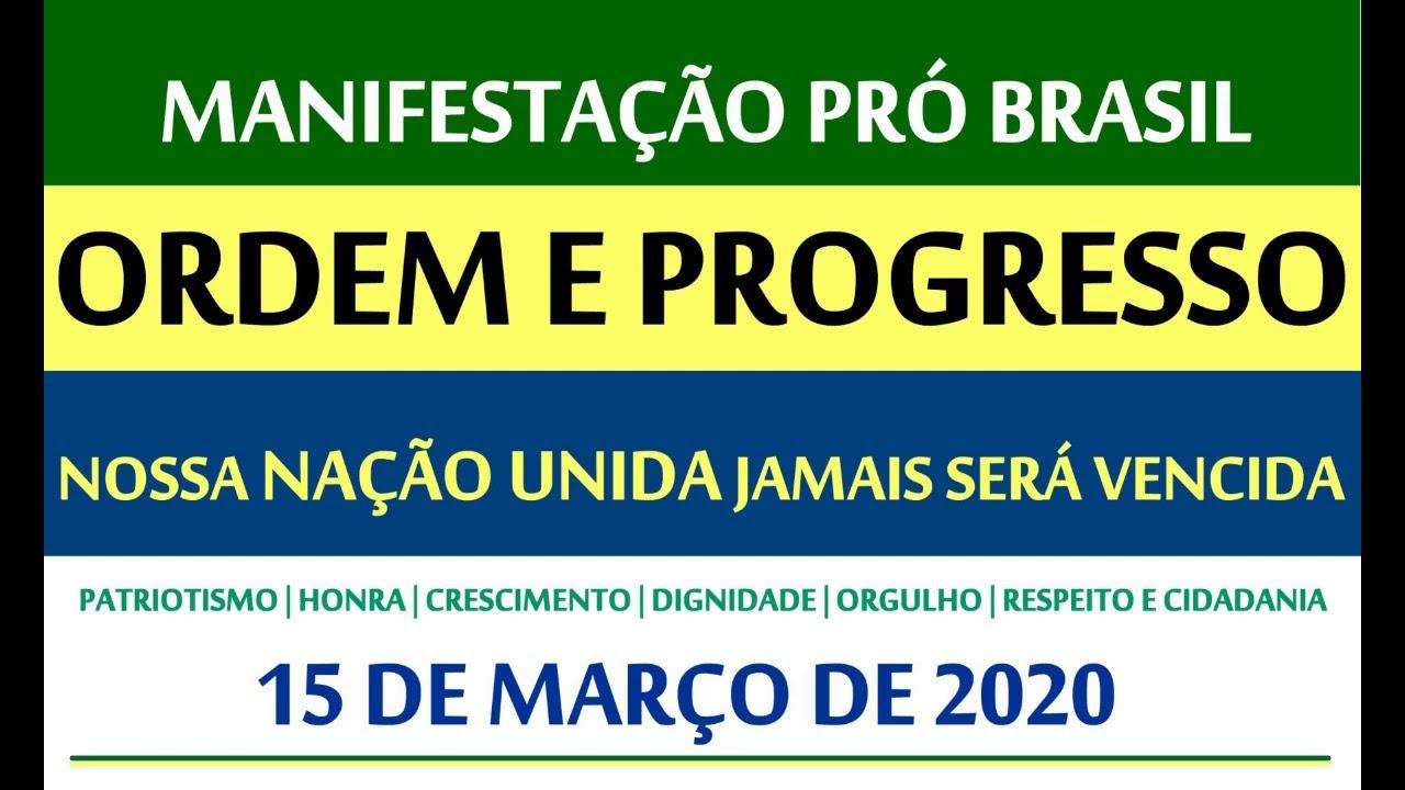 15 de março: Brasil