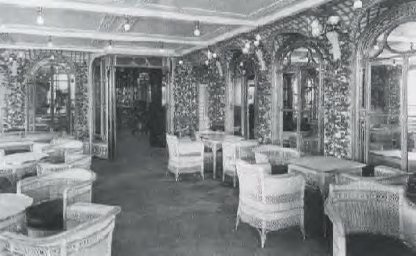 Titanic Dining Room Second Class  YouTube