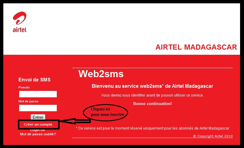 airtel madagascar recrutement