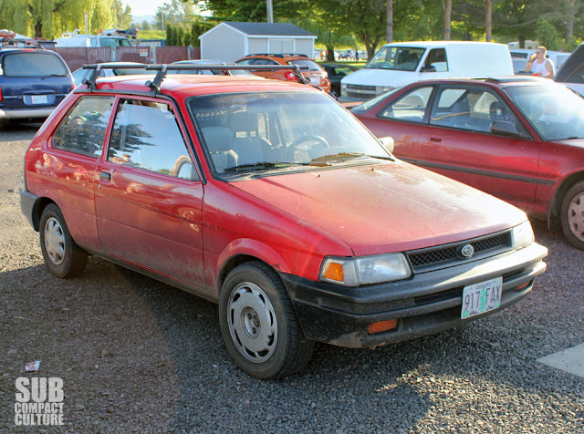 2WD Subaru Justy at 2013 Oregon Trail Rally