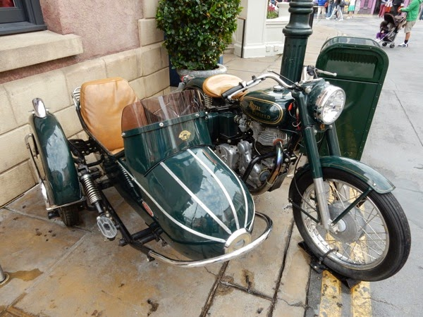 1939 Royal Enfield Bullet motorcycle Mummy Returns