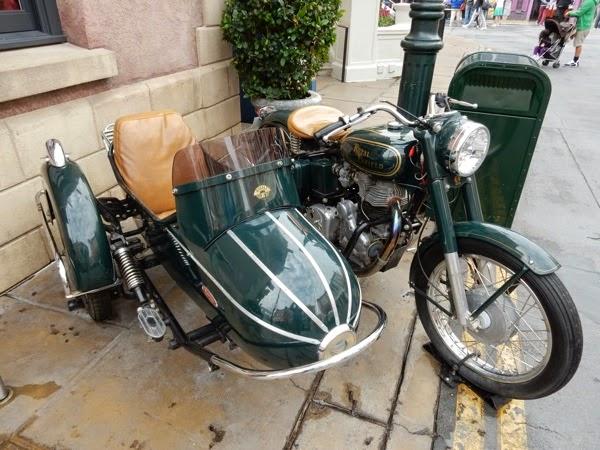 1939 Royal Enfield Bullet motorcycle Mummy Returns