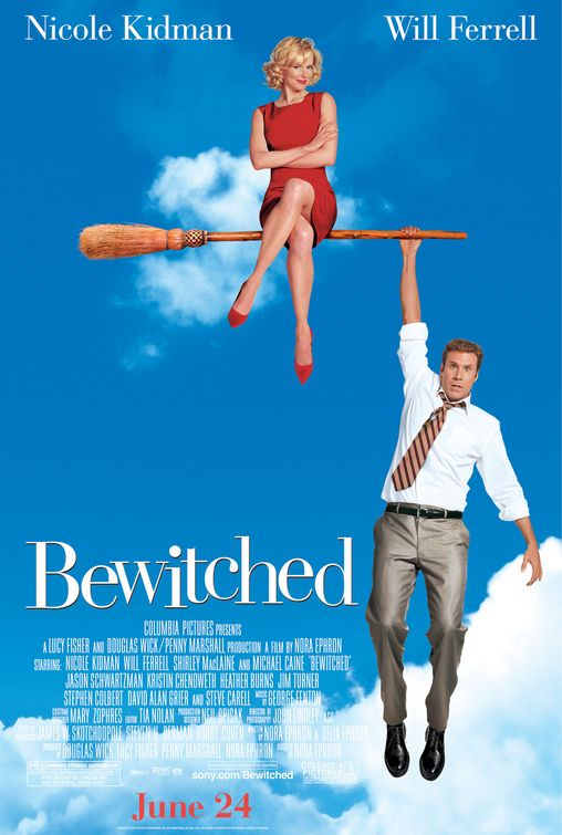 Bewitched (the movie), poster