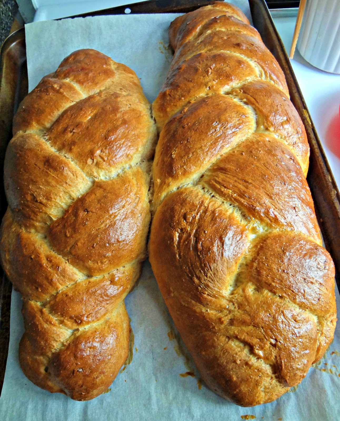 ... Cooking Actress: Daring Bakers Challenge-Challah Bread (Whole Wheat