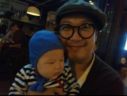 HaHa and Byul welcome their newborn son into the world