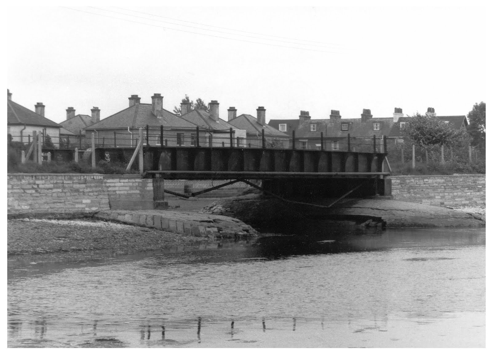 Jackie Spencers bridge Stokes Bay Line