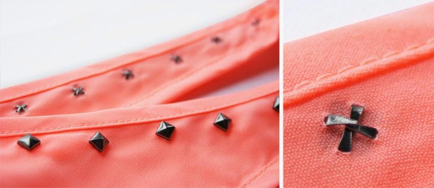 Diy customizar ropa con tachuelas6