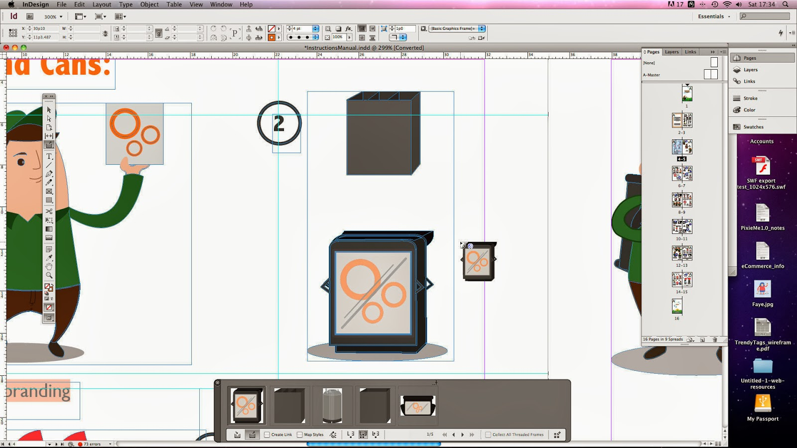 Master InDesign CS6′s new Content Collector tool
