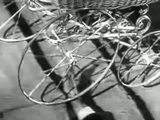 Sergei Eisenstein: Battleship Potempkin, 1925, Odessa steps.