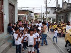 Día de la entrega de Juguetes. Americano 2012