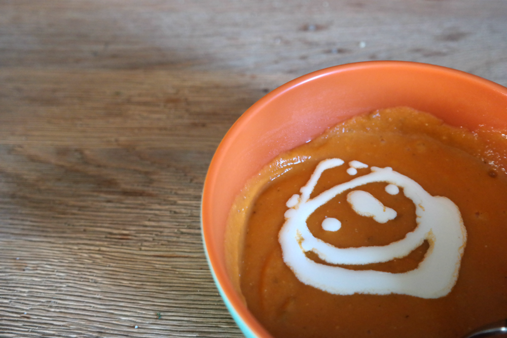 Cooking for a (Pregnant) Vegetarian - Smiley Soup