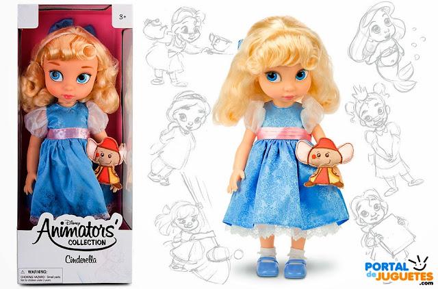 muñeca cenicienta coleccion animators
