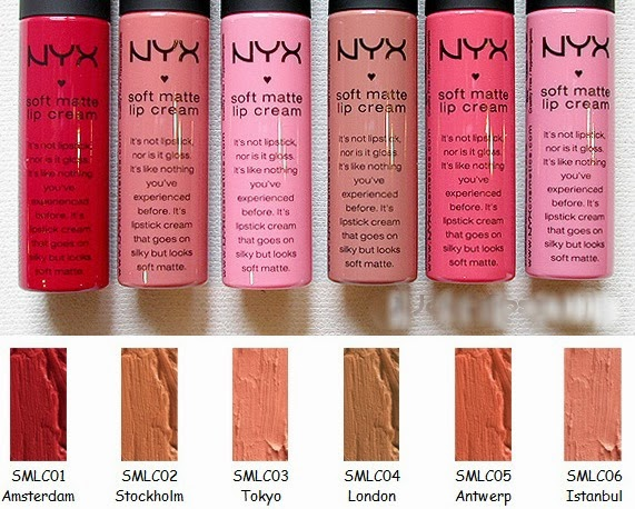 BEST SELLER : NYX SOFT MATTE LIP CREAM