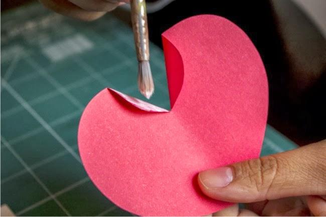 coração em 3d, decoração com coração, decoração com corações, corações em 3d