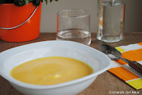 Crema de zanahoria