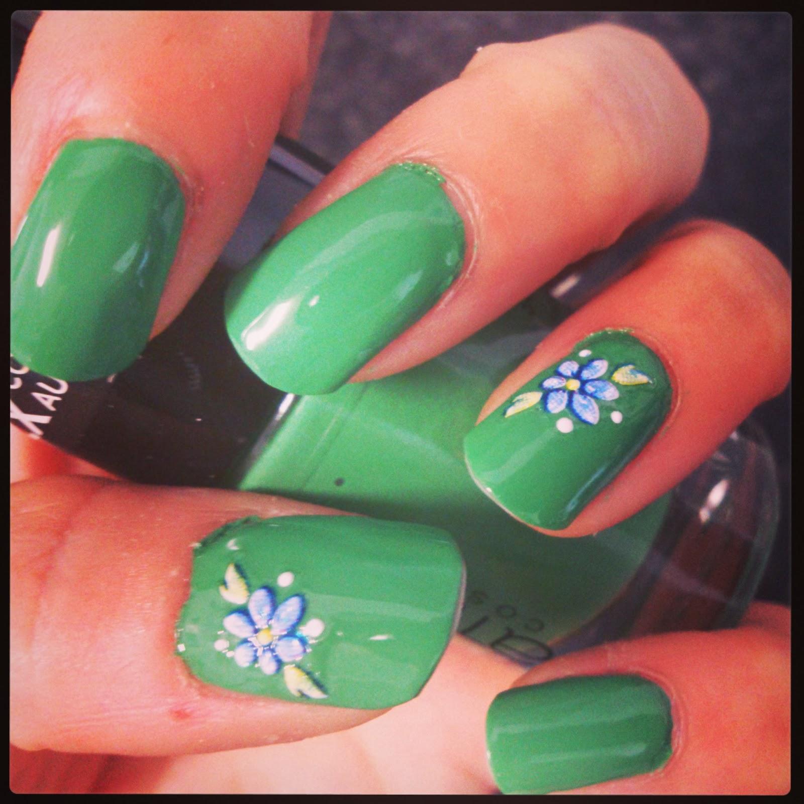 Manicura de Fantasia: Reto de los Colores #Verde!