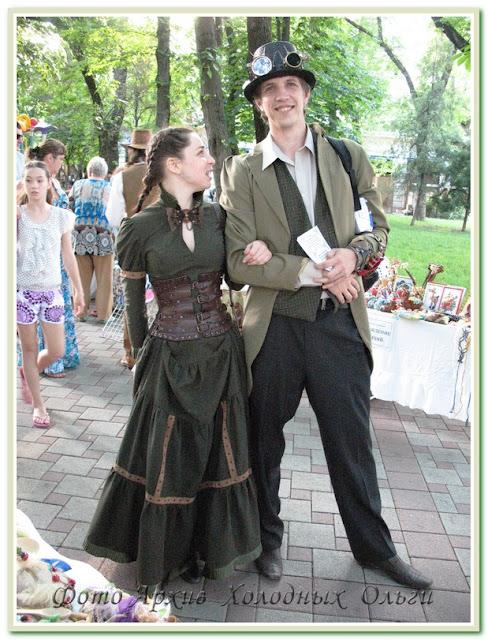 Исторические костюмы. Ночь музеев в Краснодаре