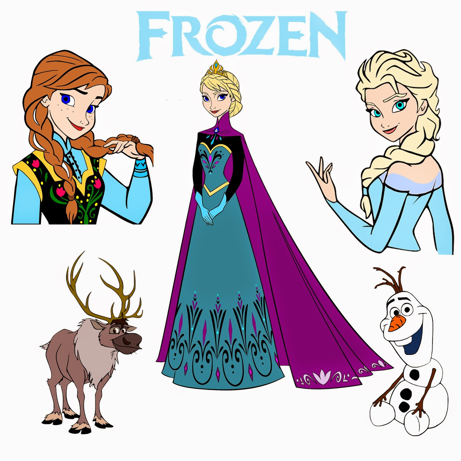 Frozen Disney SVG Files
