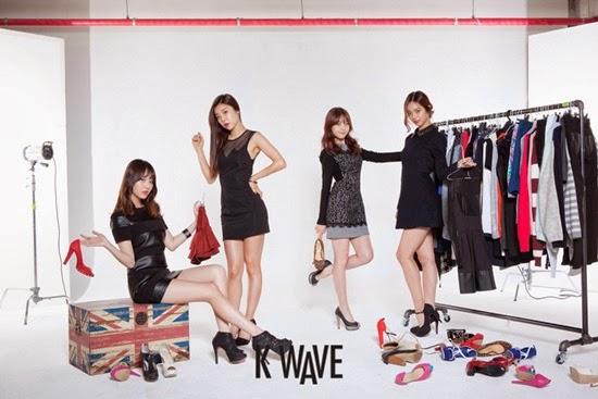 Girl's Day - K Wave Magazine December Issue 2013