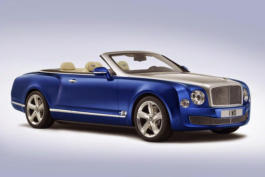 Bentley Grand Convertible Concept (2014) Front Side