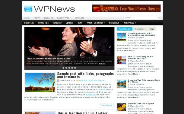 Free Gray Celebrity News Wordpress Web 20 Theme Free Css