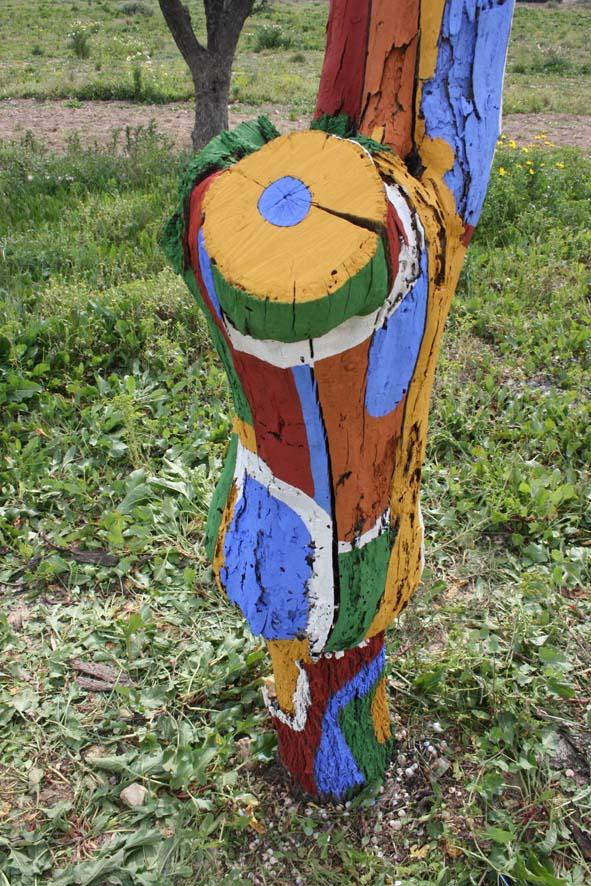 Jardinitis rboles decorados - Como decorar un arbol seco ...