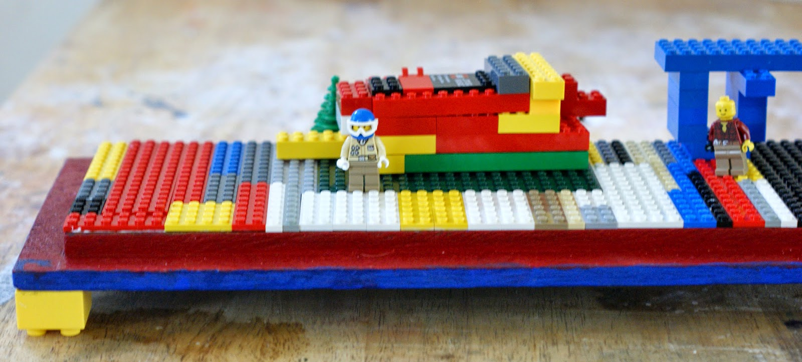 Easy DIY Lego Container with Play Table!