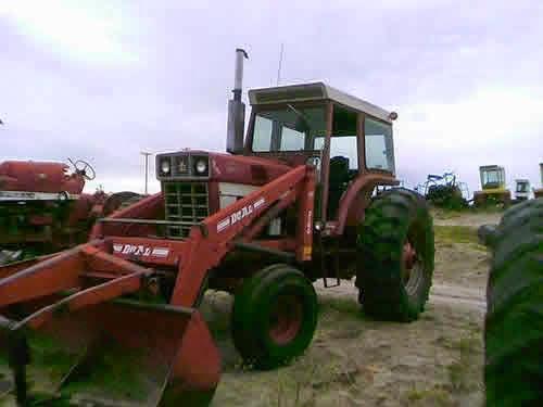 International 1566 tractor parts