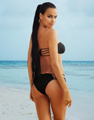 Irina Shayk so hot for Beach Bunny sexy bikini model