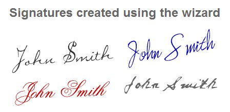 Make Your Own Signature to Create for Blogger or Wordpress ...