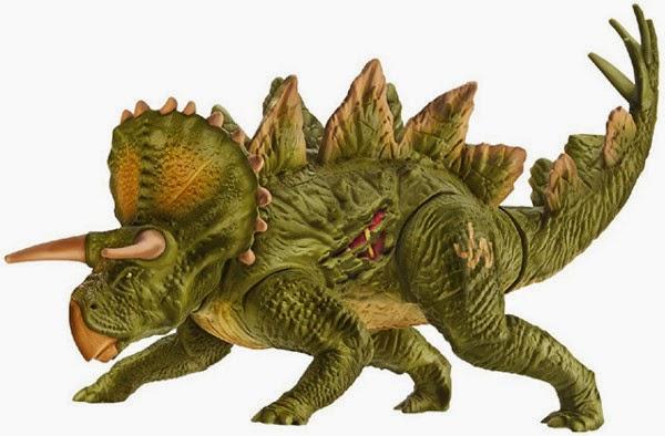 JUGUETES - JURASSIC WORLD  Stegoceratops | Dinosaurio | Figura - Muñeco  Producto Oficial Película 2015 | Hasbro B1272 | A partir de 4 años