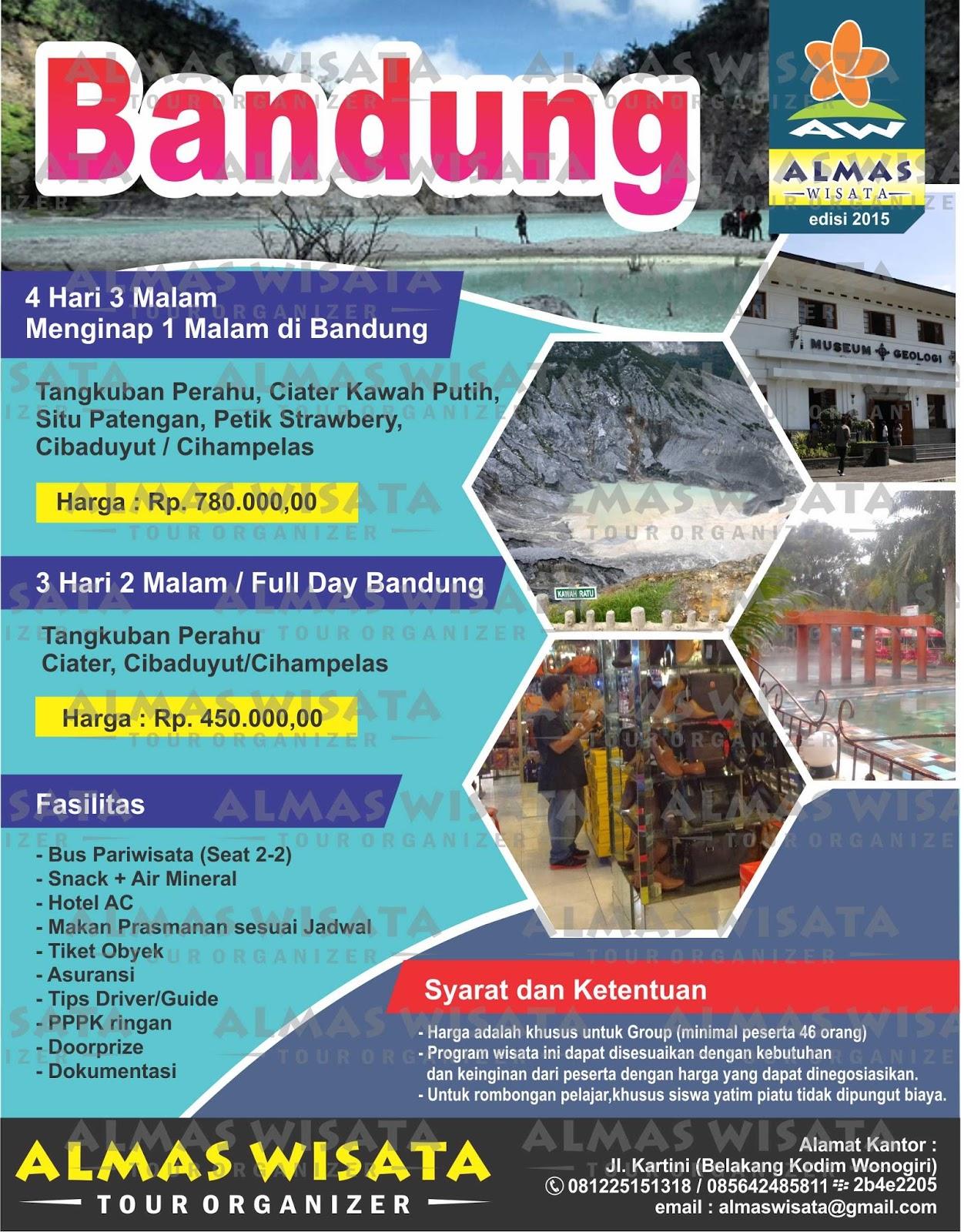 One Day Tour Jakarta Bandung